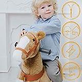 Galoppo Spielpferd mit Rollen für Kinder ab 2 Jahren in der Größe Small – XXL Reitpferd zum Reiten und Spielen im Haus und auf der Straße - 2