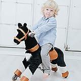 Galoppo Spielpferd mit Rollen für Kinder ab 2 Jahren in der Größe Small – XXL Reitpferd zum Reiten und Spielen im Haus und auf der Straße - 3