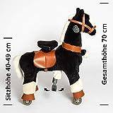 Galoppo Spielpferd mit Rollen für Kinder ab 2 Jahren in der Größe Small – XXL Reitpferd zum Reiten und Spielen im Haus und auf der Straße - 4