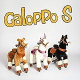 Galoppo Spielpferd mit Rollen für Kinder ab 2 Jahren in der Größe Small – XXL Reitpferd zum Reiten und Spielen im Haus und auf der Straße - 6