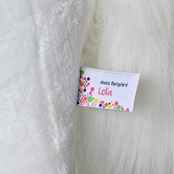 Pink Papaya Reitpferd auf Rollen, XXL 70cm Spielpferd Lola, Schaukelpferd zur echten Fortbewegung bis 70kg belastbar, Plüsch-Pferd mit 2 Sounds Toys - 4