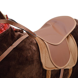 Pink Papaya Plüschpferd XXL 105cm - Max, riesiges Pferd zum Reiten, EIN tolles Stehpferd XXL, bis 100kg, Spiel-Pferd Reitpferd zum Draufsitzen inkl. Kleiner Bürste - EIN Kindertraum für Mädchen! - 5